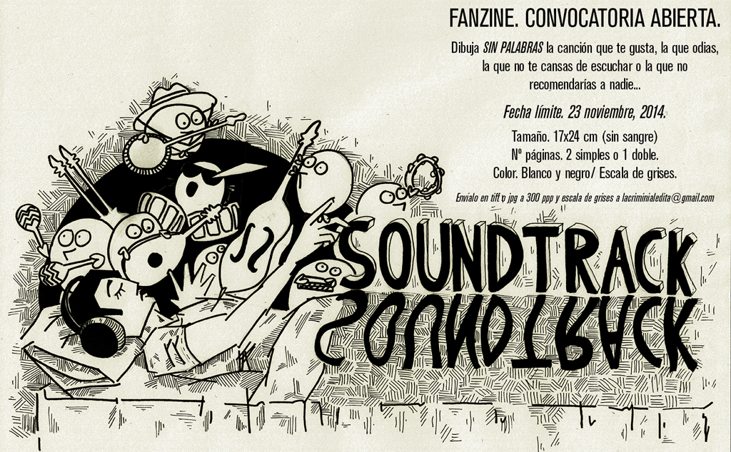 Fanzine Soundtrack. Convocatoria Abierta.